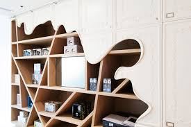 Minimalist Melting Furniture Secret Location Concept Store