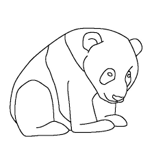 Small Picture Coloring Pages Draw A Panda Bear Find This Pin And More On