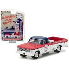 1965 Dodge D-100 Pickup Truck Chevron Long Bed W/ Tool Box