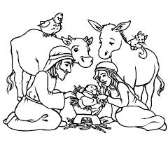 Small Picture Religious Christmas Coloring Sheets Religious Coloring Pictures