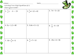solving two step equations worksheet best of awesome two step equations worksheet luxury multi step equations