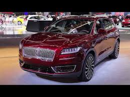 2019 Lincoln Nautilus Color Chart 2019 Lincoln Nautilus Video Review