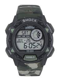watches for men buy men s watches online in myntra timex expedition men green camouflage printed digital watch t49976