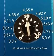 On The Hexohm Dial How Do You Know At What Voltage You Are