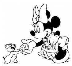 Topolino E Minnie Disney Disegni Da Stampare E Colorare