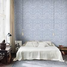 Light Blue Wallpaper Bedroom Wallpaper Penelope Light Blue Sandberg Wallpaper
