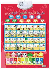 Arabic Chart Edusonic Arabic English Alphabet Talking Charts For Kids Buy Talking Chart For Kids Product On Alibaba Com