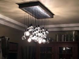 chandelier light bulbs custom made wood and metal hanging bulb chandelier light fixture customized to your