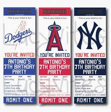 Admit One Ticket Template Free Beauteous Baseball Ticket Invitation Template Free Ticket Template Publisher