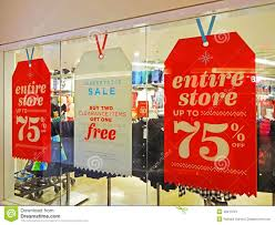 Post Christmas Sale Stock Image Image Of Discount Sale 48413701
