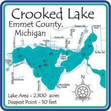 Crooked Lake Pure Michigan Northern Michigan Lake