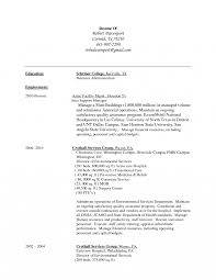 Resume For Housekeeping Job Resume Housekeeper Alluring Housekeeping Examples Samples For 17