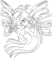 Winx Club Coloring Pages Are Pictures