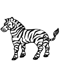 Free Coloring Pages Online Free Coloring Page Zebra Free Coloring