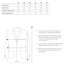 Blazer Size Chart Blazer Size Guide How To Care For Your Blazer Bell Barnett