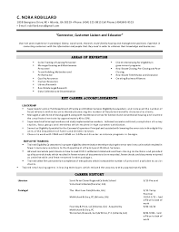 Value Based Resume Template