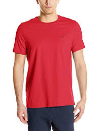 Tommy Hilfiger Mens Short Sleeve Core Flag Crew Neck Tee