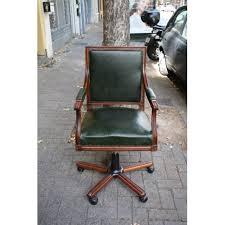gray swivel office chair 75 vintage wooden. Unique Vintage Old DUKE Swivel Chair On Gray Office Chair 75 Vintage Wooden