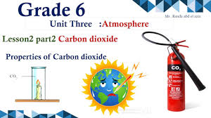 By Design Science Grade 6 Science Grade 6 Unit 3 Lesson 2 Part2 Properties Of Carbon Dioxide