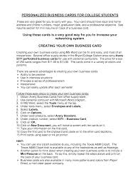 Objectives For Resumes Students Resume Good College High School