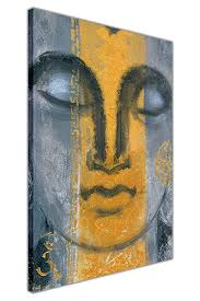 grey eternal harmony buddha on framed canvas print wall art pictures size a4 12 quot on harmonious buddha canvas wall art with grey eternal harmony buddha on framed canvas print wall art pictures