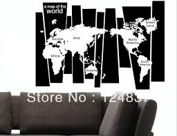 a map of world vinyl wall art removable decals family office sticker quotes wall stickers world on vinyl wall art quotes south africa with a map of world vinyl wall art removable decals family office sticker