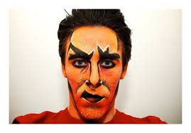 lion king scar makeup test 1 by kem2000 deviantart on deviantart