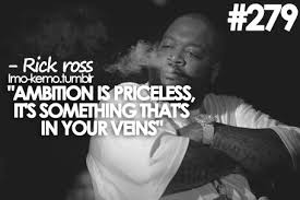 Rick Ross Quotes New Rick Ross Quotes Sayings Ambition True Collection Of Inspiring