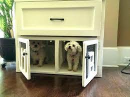 wooden dog crate furniture. Dog Crate End Table Kennel Wooden Plans Furniture Diy