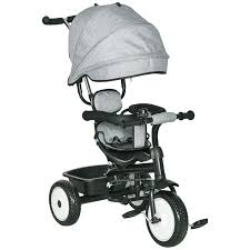 Qaba <b>Multi</b>-<b>Function</b> Baby <b>Tricycle</b> 4 In 1 Stroller/ <b>Kid Trike</b> with ...