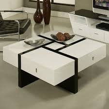 best white gloss coffee table modern round with white gloss side table