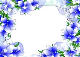 Simple Flower Border Designs For School Projects Making