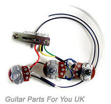 stratocaster kit guitars hand made 500k stratocaster strat wiring harness kit 0 033uf cap full size pots