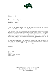 alpine waste processing fee increase letter mountain waste alpine waste processing fee increase letter page