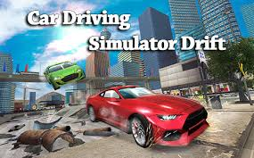 car driving simulator drift poster