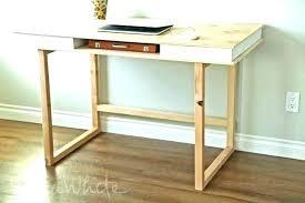 build a reception desk modern base for your own study plans diy