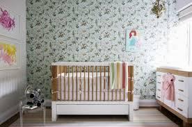 Modern Nursery Wallpaper Idea