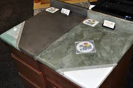 diy formica countertop refinishing diy updates for your laminate with concrete coating designs 10