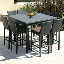 patio bar height patio table counter outdoor dining sets beautiful furniture luxury
