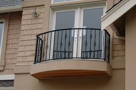 Balcony Fence minimalist home balcony with black wrought iron platform and 3661 by xevi.us