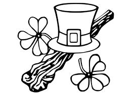 Kleurplaat St Patricks Day Afb 21744