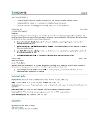 Resume Examples For Marketing Examples Of Resumes