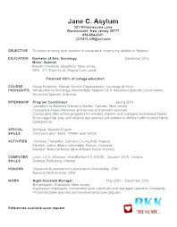 Objective For Graduate School Resume Examples Graduate School Resume Template High School Resume Examples 40