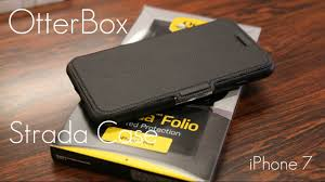 luxury leather otterbox strada case iphone 7 7 plus review demo you