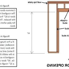 inspiring rough opening needed for garage door images ideas house framing a door opening framing door framing a garage door