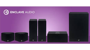 enclave cinehome. true 5.1 wire free hd audio home theater enclave cinehome o