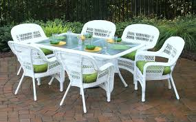 patio dining sets outdoor 7 piece wicker dining set patio dining sets canada