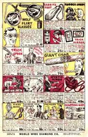 if you ve ever read a silver age ic book in your life chances are you ve seen the ad for world wide diamond co