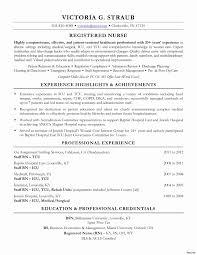 Charge Nurse Resume New 51 New Rn Resume Samples Fresh Resume