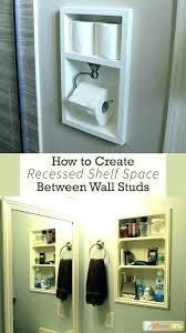 between studs storage the recessed wall cabinet shelving is a quick medicine be